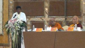 Senaka Presenting Resolutions