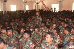 More than 1,200 soldiers attended DVA Presentation